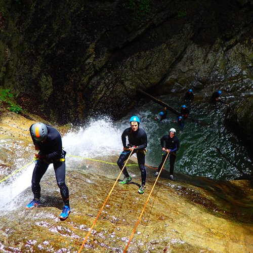 CANYON D'ANGON – ANNECY